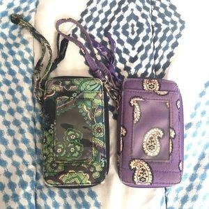 Vera Bradley Wristlet Wallets